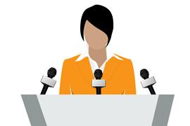 woman giving speech_1
